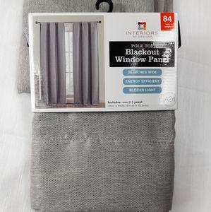 New Pole Top Blackout Window Panels 84 inch